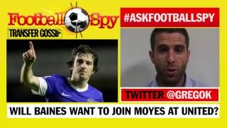 Football Spy: Will Leighton Baines sign for Manchester United?