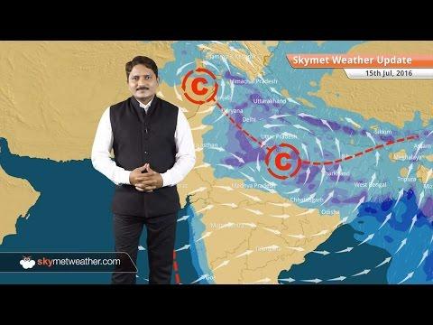 Weather Forecast for July 15: Monsoon rains to intensify in Uttar Pradesh, Bihar, Delhi