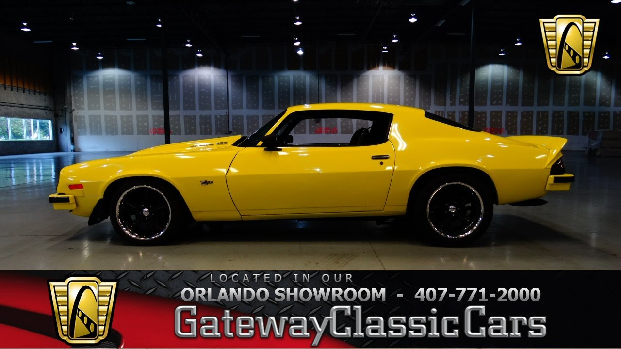 Chevrolet Camaro Z Gateway Classic Cars Orlando Youtube