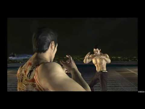 Kiryu vs Mine - Final Boss Battle (Yakuza 3 Remastered) |