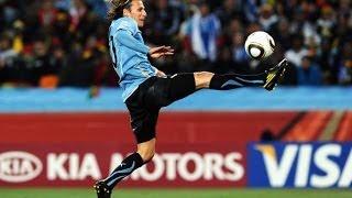 5 bàn thắng của Diego Forlan vua phá lưới World Cup 2010