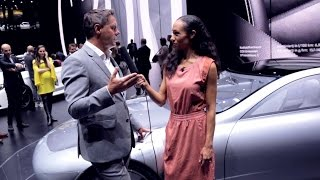 "Gorden Wagener on the aerodynamics of the ""Concept IAA"" - Mercedes-Benz original"