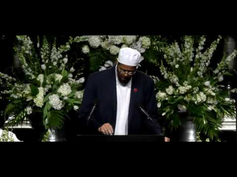 Poems Read & Closing Speech by Imam Zaid Shakir at Muhammad Ali Funeral