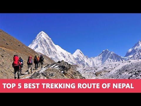 Top 5 Best Trekking Route of Nepal