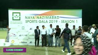 Naya Nazimabad Sports Gala Football final