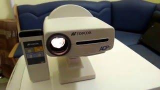 Проектор знаков Topcon ACP-7 видеообзор прибора(Оборудование для оптик,офтальмологических кабинетов,продажа таких приборов,как авторефрактометр,щелевая..., 2016-02-22T07:55:57.000Z)