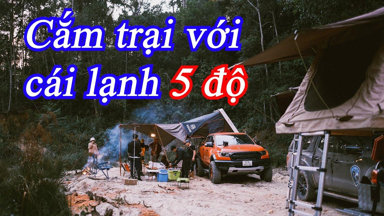 Cắm trại trong rừng với cái lạnh 5 độ ở Đà Lạt