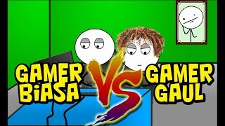 Type of gamers: Ordinary Gamer vs. Eccentric Gamers (Funny Animation part 2)
