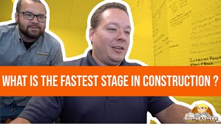 The Fastest Stage of Construction #LetsBuildTogether