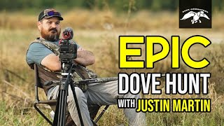 EPIC Dove Hunt with Justin Martin   CATCH & CLEAN