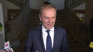 Donald Tusk o kandydowaniu na prezydenta   OnetNews