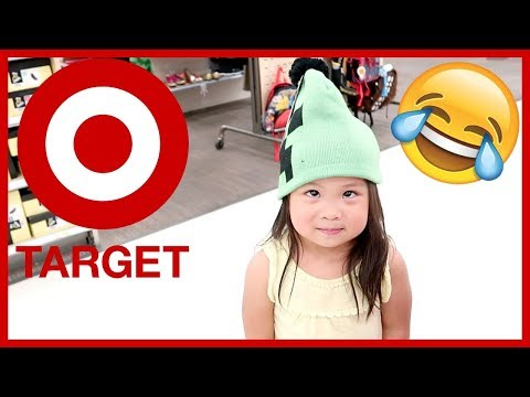 KIDS BEING SILLY AT TARGET