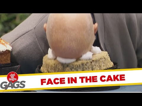 Man Pies Himself in the Face