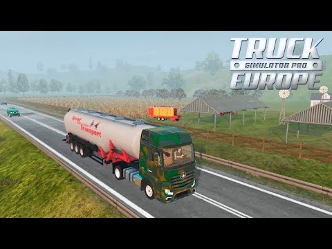 Euro Truck Pro 18 - Обзор Игры (Android Ios)