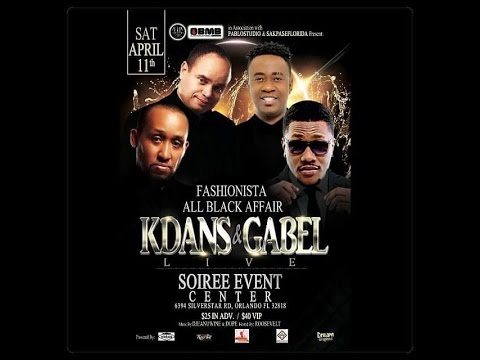 k dans gabel fashionista all black affair youtube