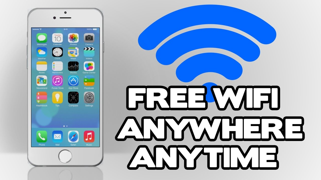 access free wifi on the go with access to