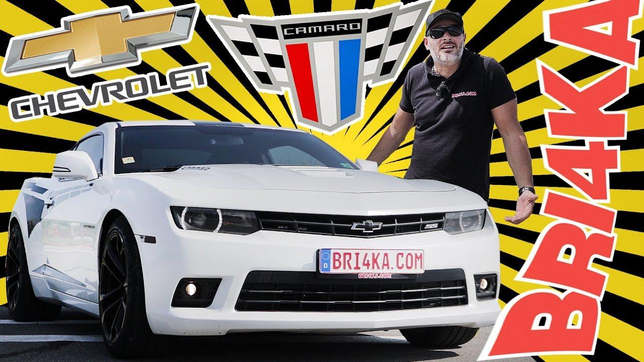 Chevrolet Camaro| (V GEN)| Test and Review | Bri4ka.com