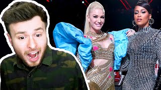 Gwen Stefani: L.A.M.B. Medley ft. Eve - The Voice 2019 Performance [REACTION]