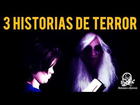 3 HISTORIAS DE TERROR XXI (RELATOS DE HORROR)