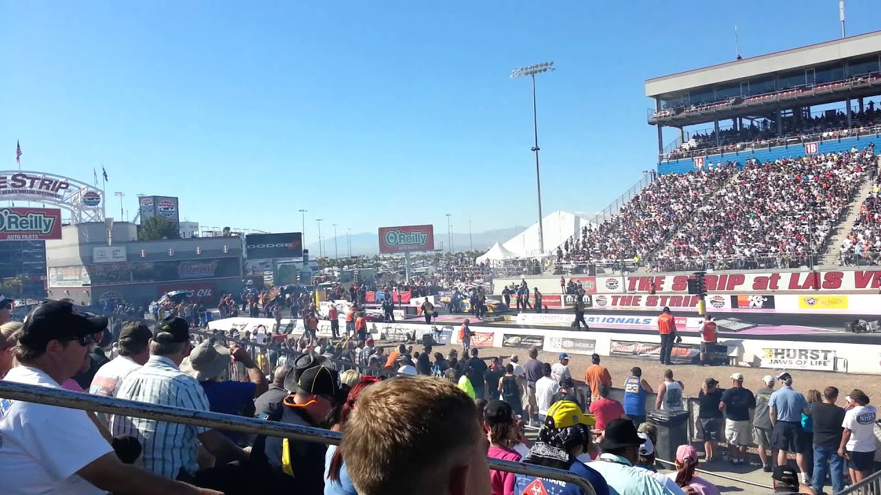 Napa car drag racing at las vegas motor speedway youtube for Las vegas motor speedway drag strip