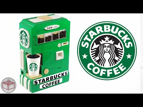 LEGO Starbucks Hot Coffee Maker Machine