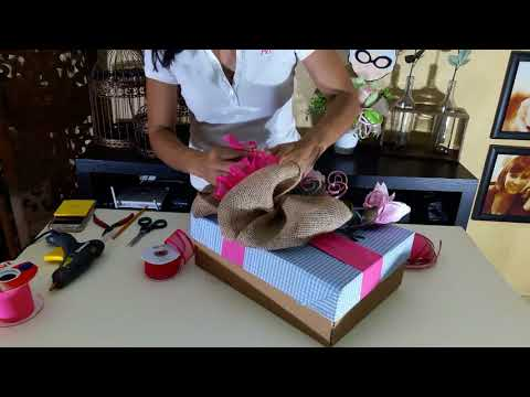 Envoltura de regalo para mamá / Manualidades de Vero