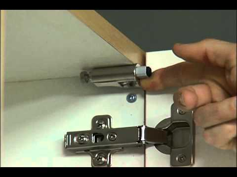 EZ Close Cabinet Damper - stops a cabinet door slam - YouTube