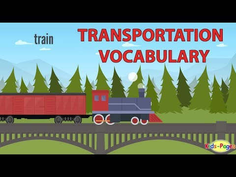 Transportation Vocabulary and Vehicle Names