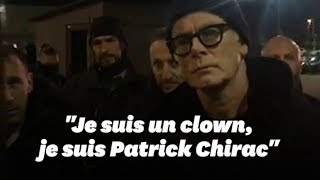 Franck Dubosc rencontre des gilets jaunes à Besançon