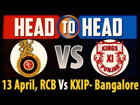 Royal Challenger Bangalore Vs Kings XI Punjab Head To Head IPL 2018   Match Analysis & Stats