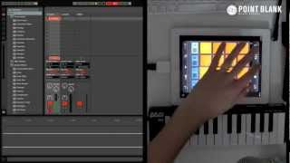 Making Music With iPad Apps (pt 1) - iMaschine / Korg MS-20 / Animoog / GarageBand / BeatShuffler