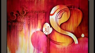 Abstract /Ganesha Paintings collection / Ganesha / Om Ganeshay Namah