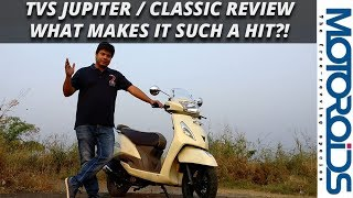TVS Jupiter / Classic Review: What Makes it Such a Mega Hit?