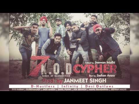7K.O.D Cypher | Prod by Infinity | Ludhiana to Jalandhar |DH