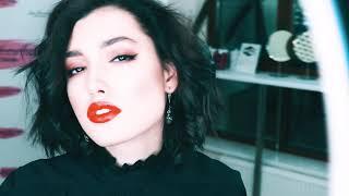 Стрелки и красные губы - встречайте тизер второго видеоурока по вечернему макияжу от Ирины Хомяковой