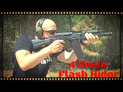 Bulgarian 4 Piece AK-47, AK-74, And Krink Flash Hider Review (HD)