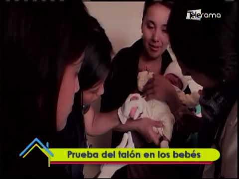 Prueba del talón en los bebés