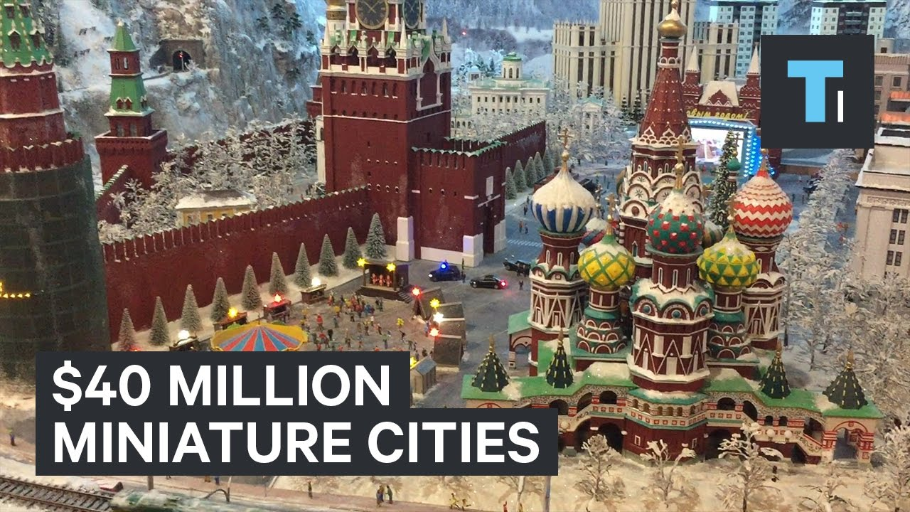 These Miniature Cities Cost 40 Million To Build Youtube