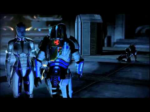 Mass Effect 2 Shadow Broker Inner Base and Boss Fight (Engineer - Insanity)