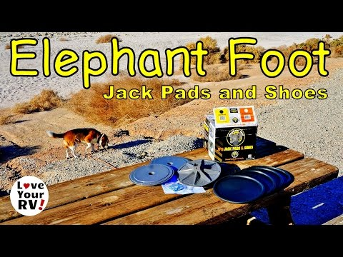 Lippert Elephant Foot Jack Pads Install and Review