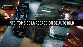 Need for Speed Top 5 de la redacción de Auto Bild