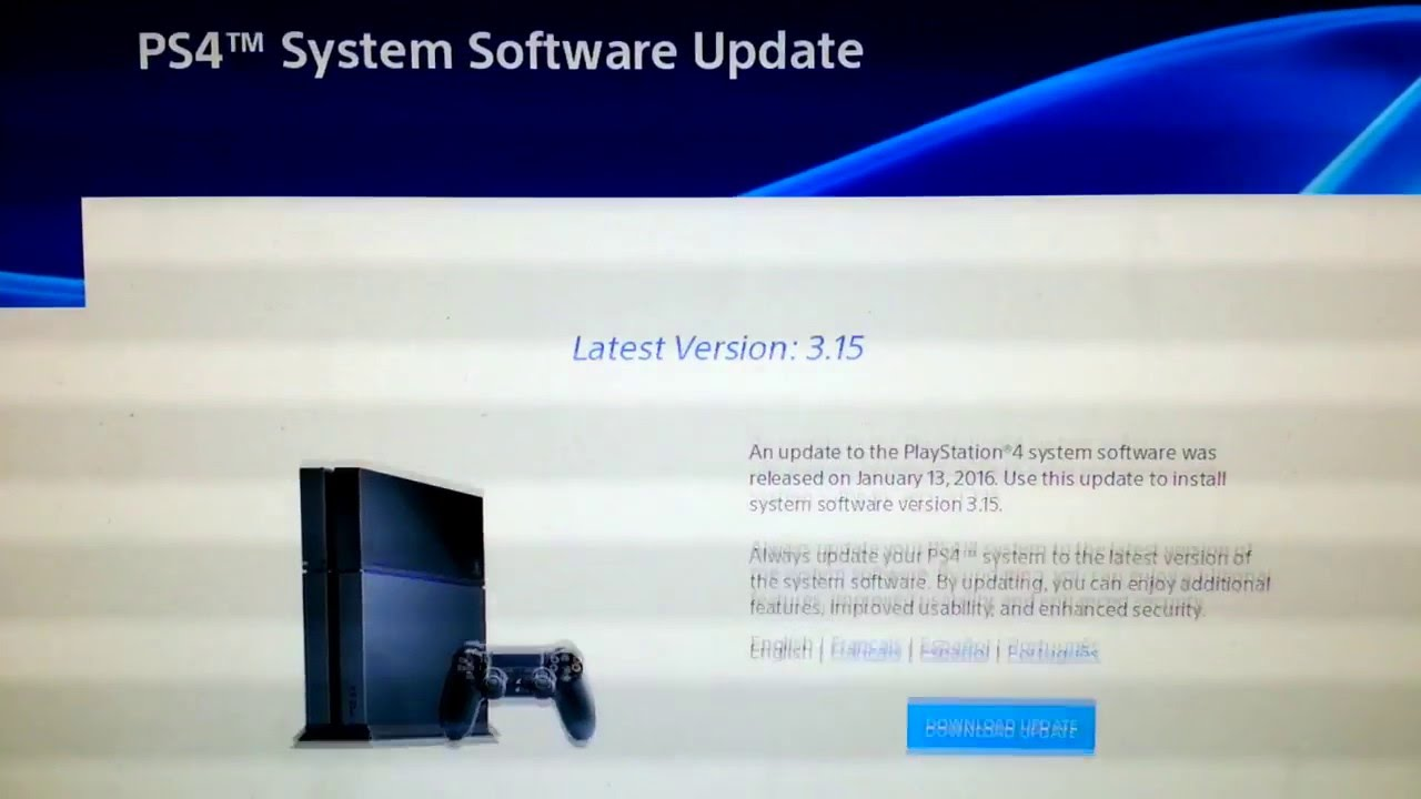 how to update ps4 hard drive
