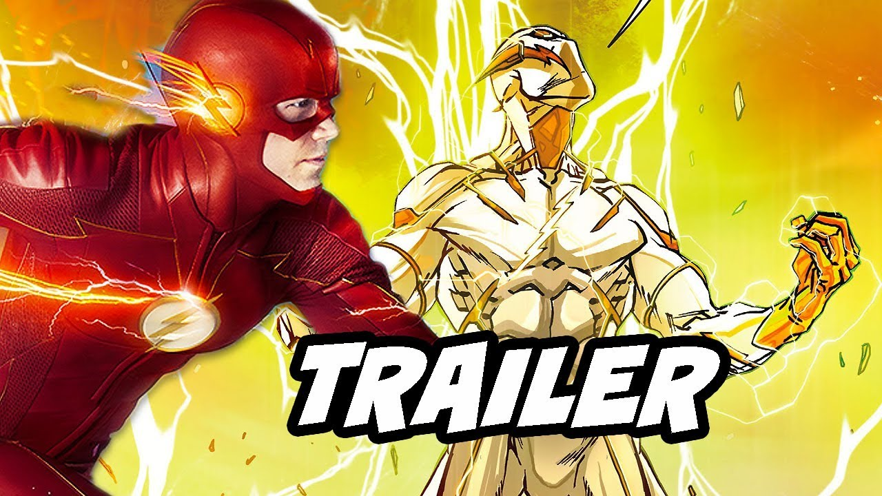 The Flash Season 5 Episode 18 Trailer Godspeed Vs The Flash And