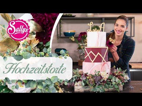Hochzeitstorte / Wedding Cake / Sallys Welt