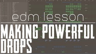 How to Make a Powerful Drop