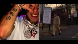 Bronx Blood Richway Shine Leaving Super Max Prison 6IX9INE Is A Snitch..DA PRODUCT DVD