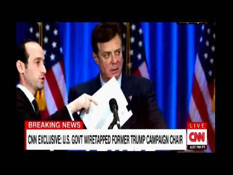 CNN Exclusive US Government wiretapped former Trump Campaign Chair Paul Manafort