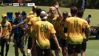 2018 WU24UC - Australia vs USA Mens Semi Final Day 6 - Reupload