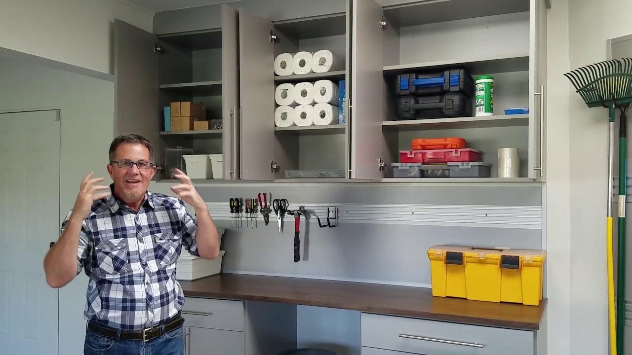 Peter Walshu0027s New California Closets Garage