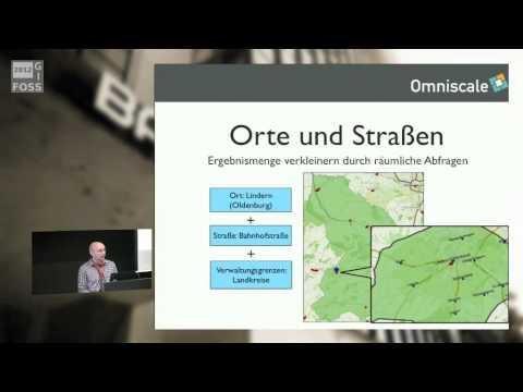2012 - Marcel Radischat: Geocoding mit OpenStreetMap